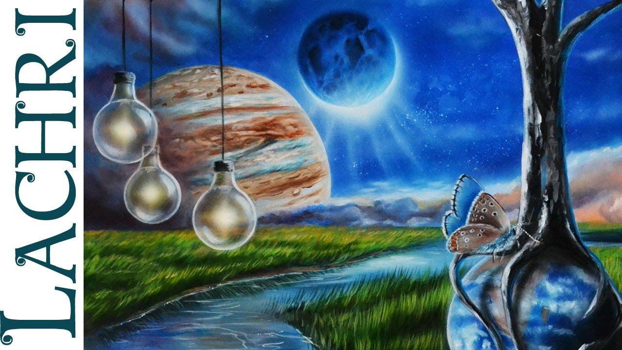 Surrealist Landscape Paintings Painting Surreal Landscape