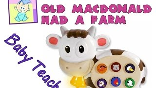 Old MacDonald Had A Farm | Nursery Rhymes | From Baby Teacher