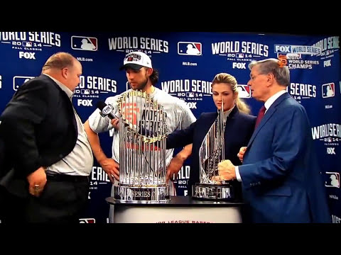 Chevy regional manager, Rikk Wilde having a heart attack during World Series MVP presentation.