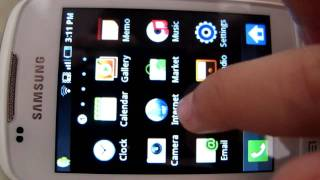 Samsung Galaxy Mini Apps Review
