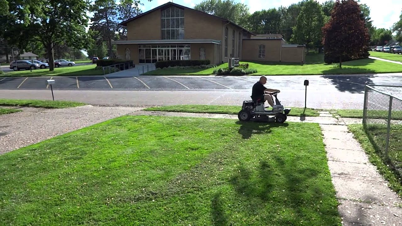 Craftsman 10hp 30 Inch Riding Mower Youtube
