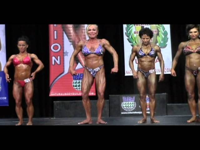 Women's Pro Bodybuilding Prejudging at the 2012 Natural Olympia