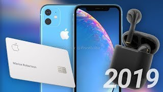 10 New Apple Products Still Coming in 2019! AirPods 3, iPhone XI & Apple Card!