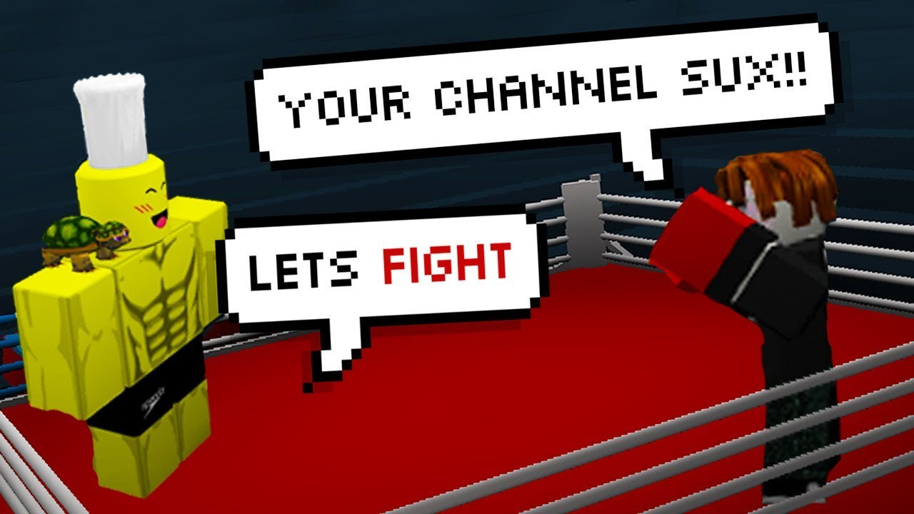 BOXING A HATER TO THE DEATH! (Roblox Boxing)
