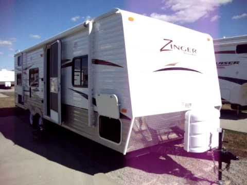 Couchs Camper Trailers new Crossroads rv Zinger 27 BH at your Columbus Ohio RV Dealer