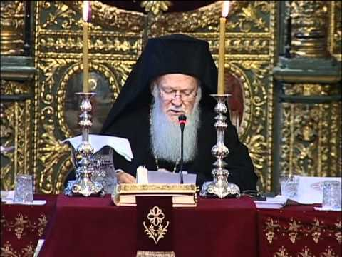 2008 Synaxis Keynote Address: His All Holiness Ecumenical Patriarch Bartholomew