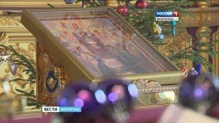 Волгоградские православные храмы наряжают к Рождеству.