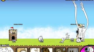 The Battle Cats: Tecoluga Cat Review: Level 10 (FAIL!!)