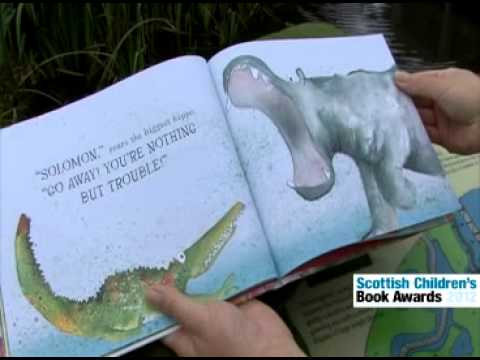 Scottish Children's Book Awards 2012 Nominee Catherine Rayner: Solomon Crocodile