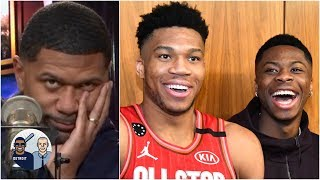 Jalen Rose refuses to read into Giannis wanting to team up with his brothers | Jalen & Jacoby