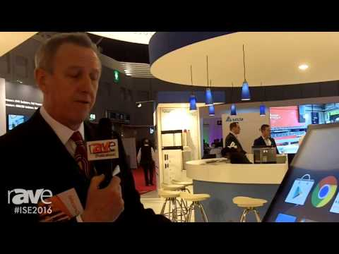 ISE 2016: Giant iTab Displays Giant Android Smartphone Solution