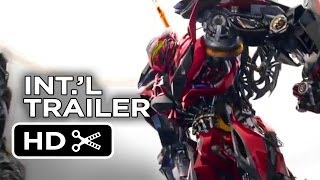Transformers: Age of Extinction Official International Trailer #1 (2014) - Michael Bay Movie HD