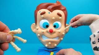 Pimple Pete game unpack and play | Family Toys Collector