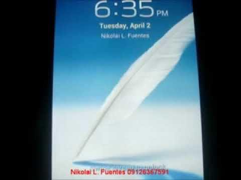 Galaxy Note SHV-E160L