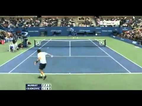 Andy Murray vs Novak Djokovic Highlights Set 4 US OPEN FINAL 2012 10 09 2012   YouTube