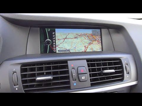 2011 BMW X3 First Review And Connected Drive Demo