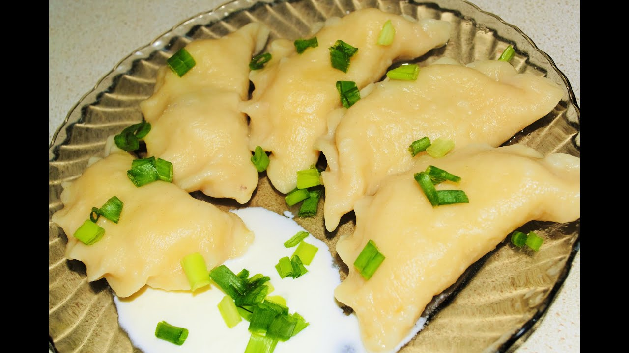 Вареники с сырой картошкой и с салом пошаговый рецепт
