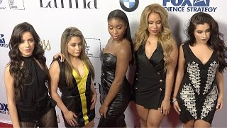 "Fifth Harmony // LATINA ""Hot List"" 2015 Party Red Carpet Arrivals"