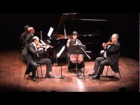 Brotons Piano Quartet, II Adagio, A. Guinovart, Cristian Chivu, Paul Cortese, Magdalena Cristea