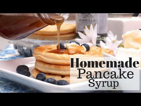 Homemade pancake syrup recipe divas can cook when it comes to pancake syrup my boys are so doggone picky i use to get whatever was on sale but not anymore now it has to be the log cabin brand ccuart Image collections