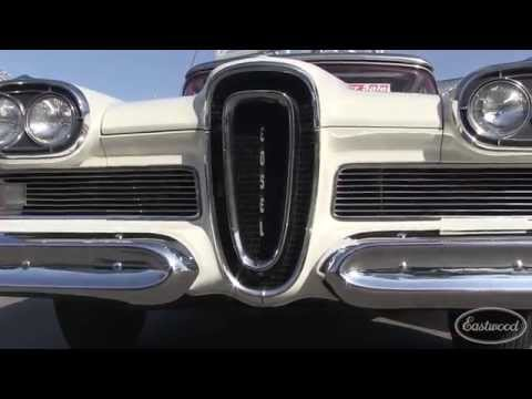 1958 Edsel Pacer Convertible at Hot Rod Homecoming - Eastwood
