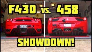Ferrari F430 VS 458
