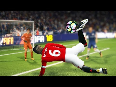 ЛУЧШИЕ ГОЛЫ НОЯБРЯ FIFA 18