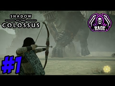 THIS GAME ONLY HAS BOSSES, PS2 REMAKE! Shadow of the Colossus Part 1 (PS4 Gameplay)