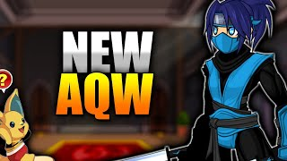New Class Hall! New Gear and more AQW!