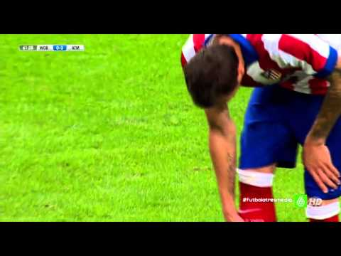 Mario Mandzukic Goal I Wolfsburg vs Atletico Madrid I 0-3