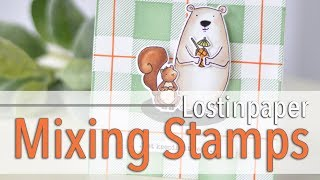 Mixing Stamp Sets to Create a Card!