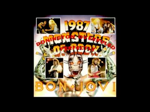 Bon Jovi - Travelin' Band (Bruce Dickinson, Paul Stanley and Dee Snider) - Monsters Of Rock 87