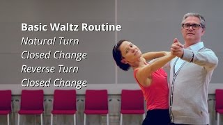 Waltz Basic Steps | Natural and Reverse Turns, Closed Change