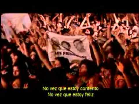 Los Prisioneros - Tren Al Sur - Estadio Nacional De Chile 2001 video