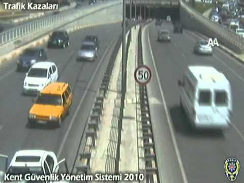 Antalya Trafik Kazaları - Mobese - Kamera Kayıtları - Traffic Accident in Turkey/Antalya