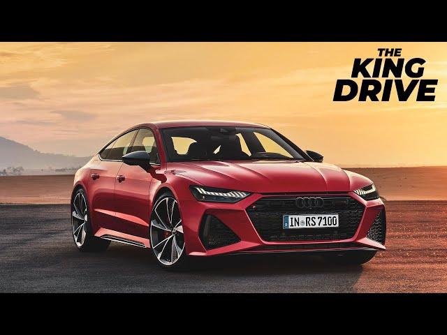Новая Audi RS7 Sportback - абсолютное зло