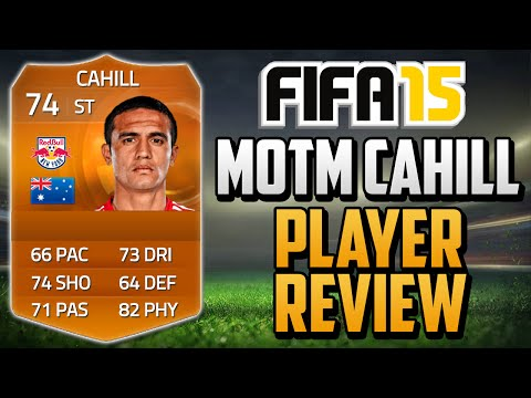 Fifa 15 MOTM Tim Cahill Review (74) w/ In Game Stats & Gameplay - Fifa 15 Player Review