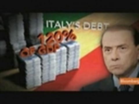 Debt Crisis Hits Italy as Berlusconi Hastens Budget Plan