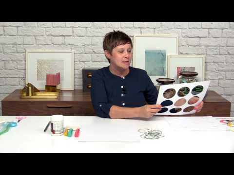 Use the Cameo Die Cutting Machine to Create Your Own Stencils   Lesson 10   Ashley Horton