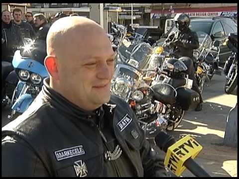 Русские байкеры Америки открыли новый сезон