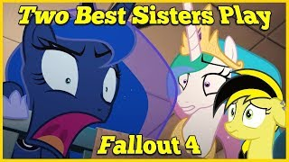 Reacting is Magic: Two Best Sisters Play-Fallout 4 Blind Reaction