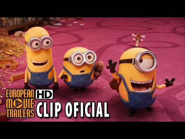 LOS MINIONS Clip oficial #2 en español (2015) HD