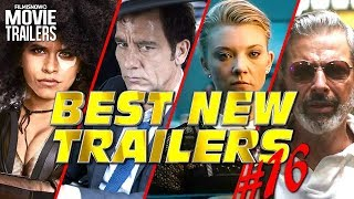 BEST NEW Weekly TRAILER Compilation (2018) - #16
