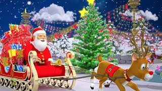 Deck The Halls | Christmas Songs & Nursery Rhymes | Xmas Music for Kids | Little Treehouse