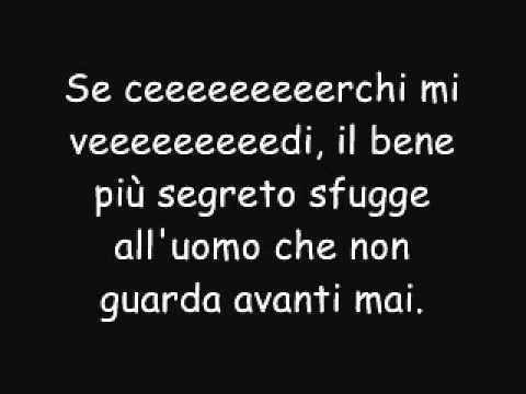 Indietro Tiziano Ferro (con testo)
