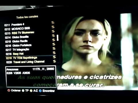 Azamerica S1005 canales HD y SD funcionando Amazonas Hispasat