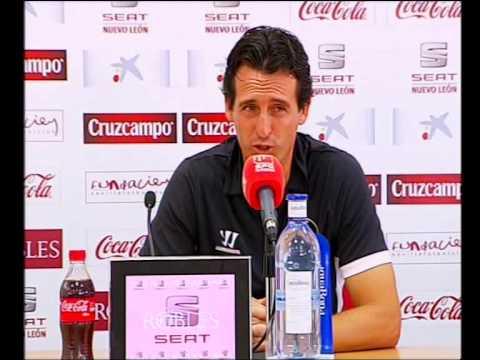 Rueda prensa Unai Emery. 31/07/13. Sevilla FC
