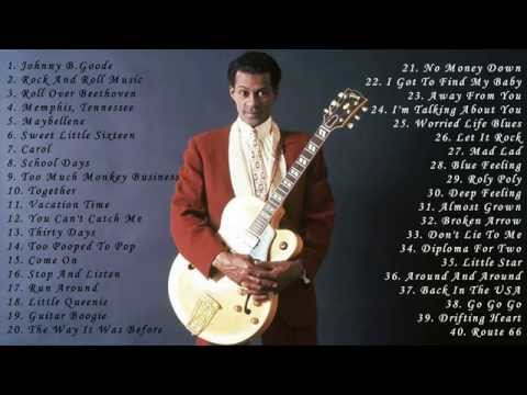 Chuck Berry: Greatest Hits Full Album  Best Songs Of Chuck Berry