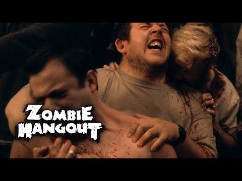Shaun of the Dead - Zombie Clip 8/8 Breaking and Eviscerating (2004) Zombie Hangout