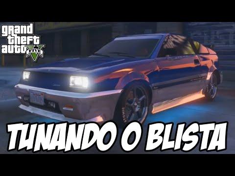 GTA V Nova Geração - Tunando o Dinka Blista CARRO NOVO EXCLUSIVO